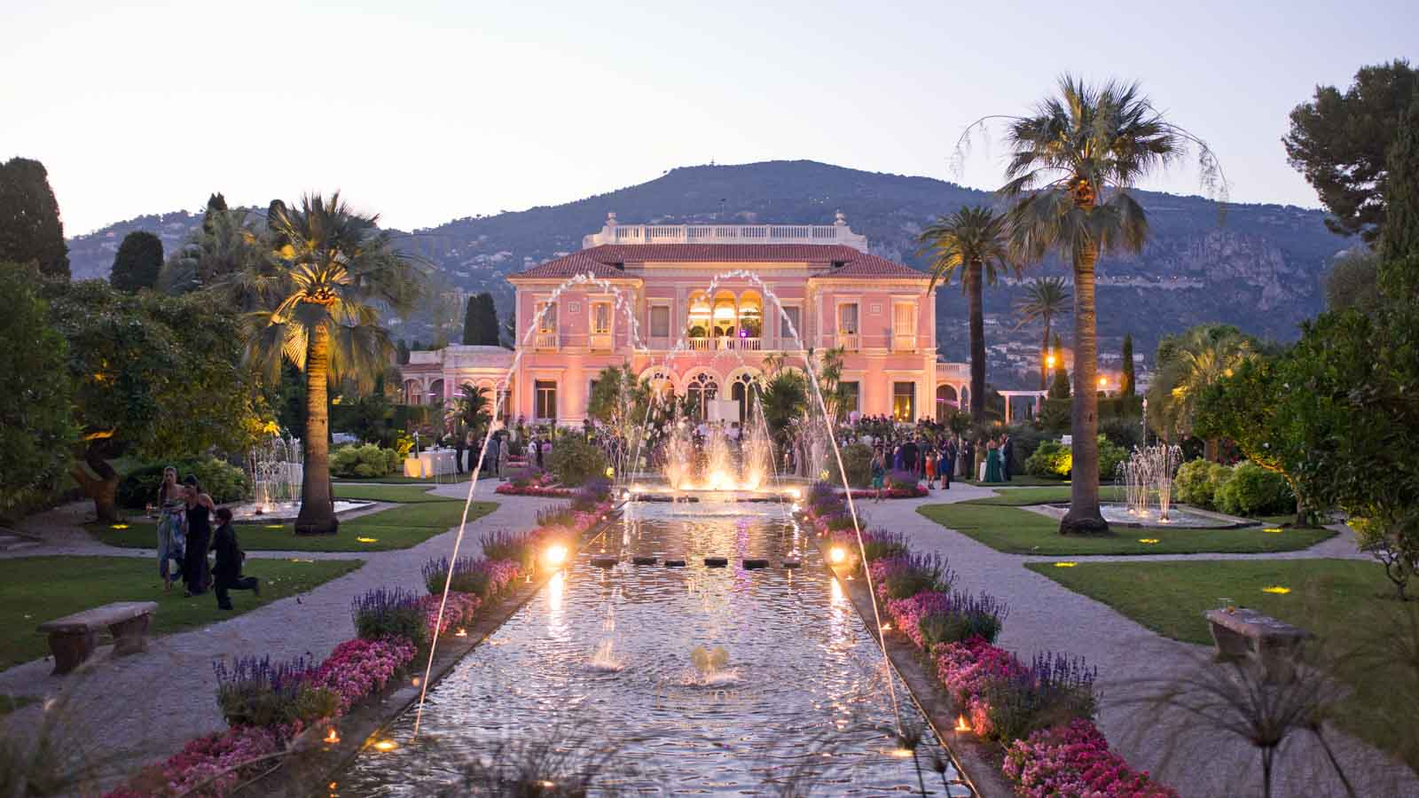 Villa Ephrussi de Rothschild wedding photography.