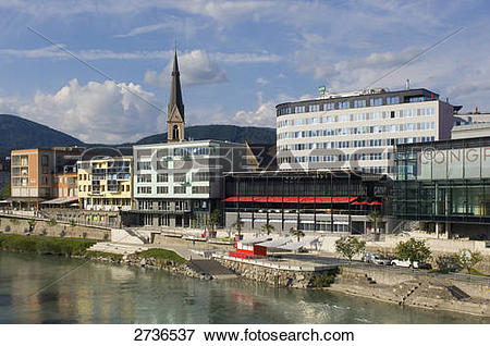 Picture of Conference center at waterfront, Villach, Kaernten.