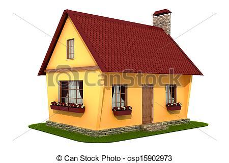 Village house clipart 2 » Clipart Station.