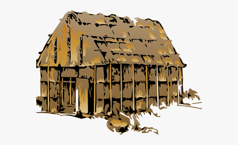 Hut Clipart Village Home.