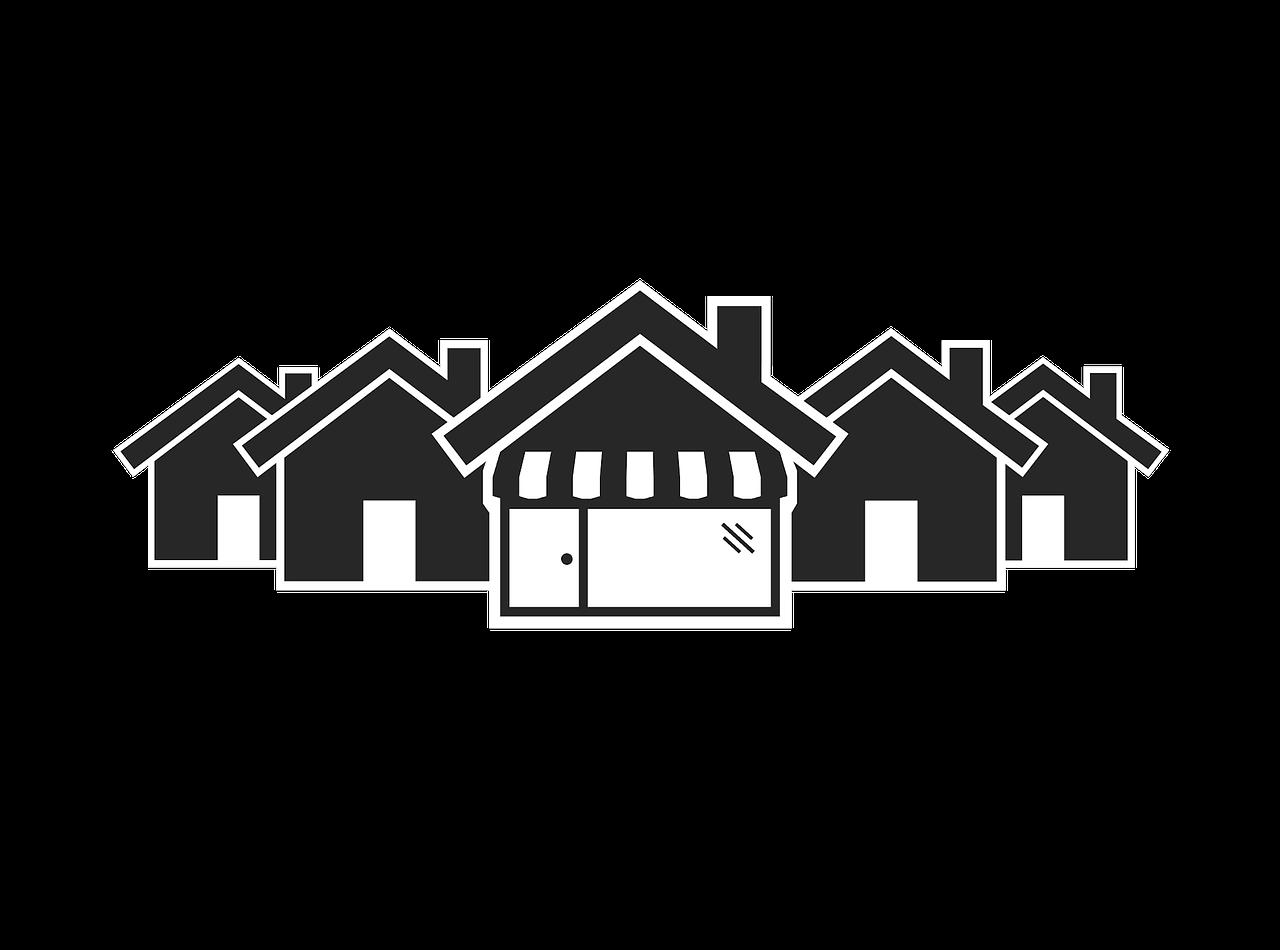 Village Shop Shop Village Icon PNG.