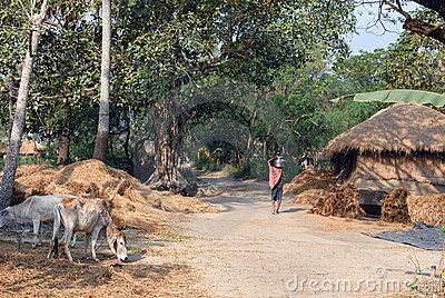 Indian Village Clipart.