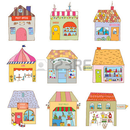 1,245 Village Shop Stock Illustrations, Cliparts And Royalty Free.