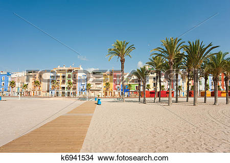 Stock Photo of Villajoyosa k6941534.