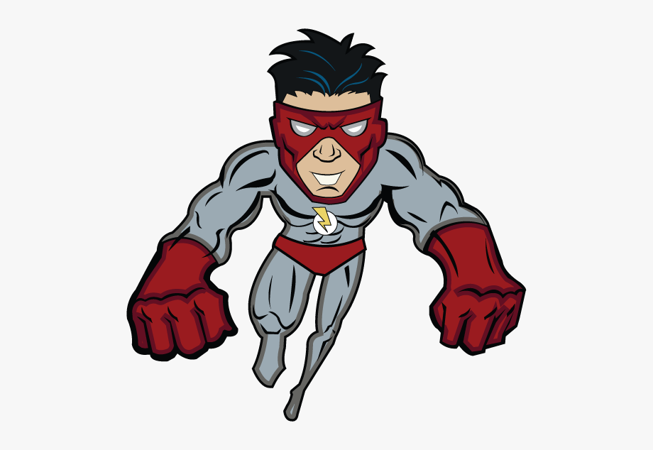 Red Super Villain.