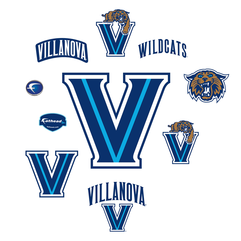 Villanova Wildcats: Logo Assortment.