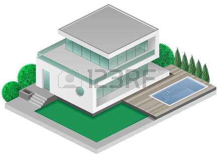 Villas Stock Vector Illustration And Royalty Free Villas Clipart.