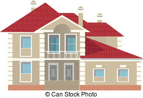 Pitched roof Clip Art Vector Graphics. 57 Pitched roof EPS clipart.