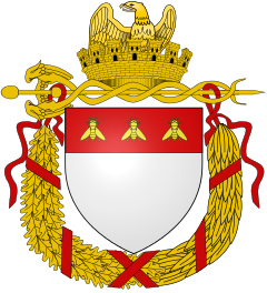 Armoriale delle città del primo e secondo Impero.