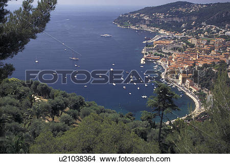 Stock Photo of France, Villefranche.