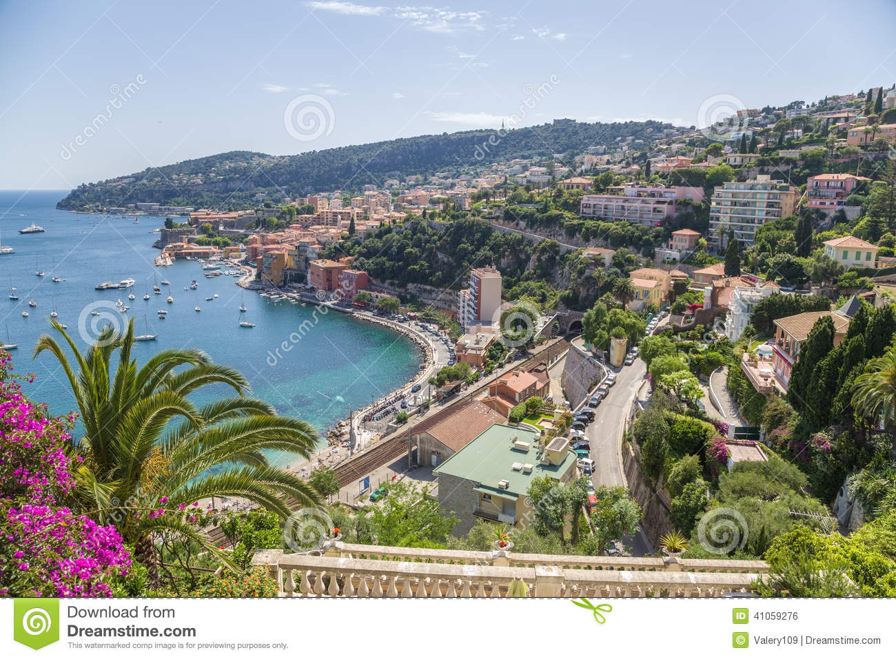 France. Town Of Villefranche.