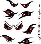 Evil Eye Clip Art.