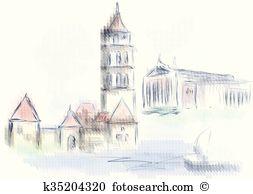 Vilnius Clip Art and Illustration. 310 vilnius clipart vector EPS.