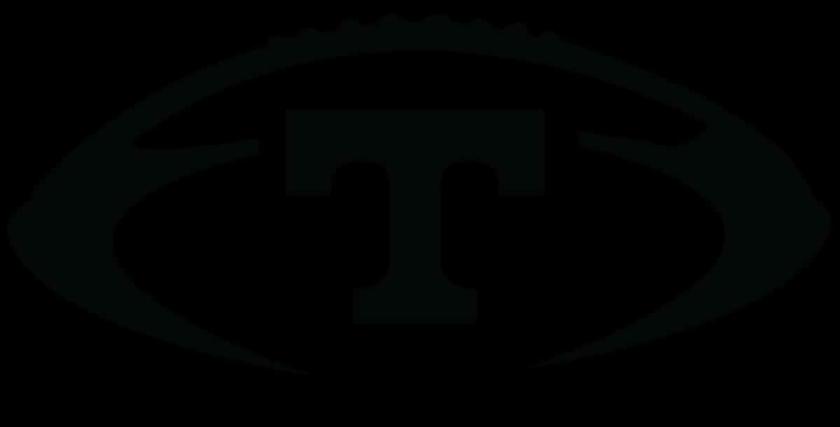 Clipart tn vols logo black and white.