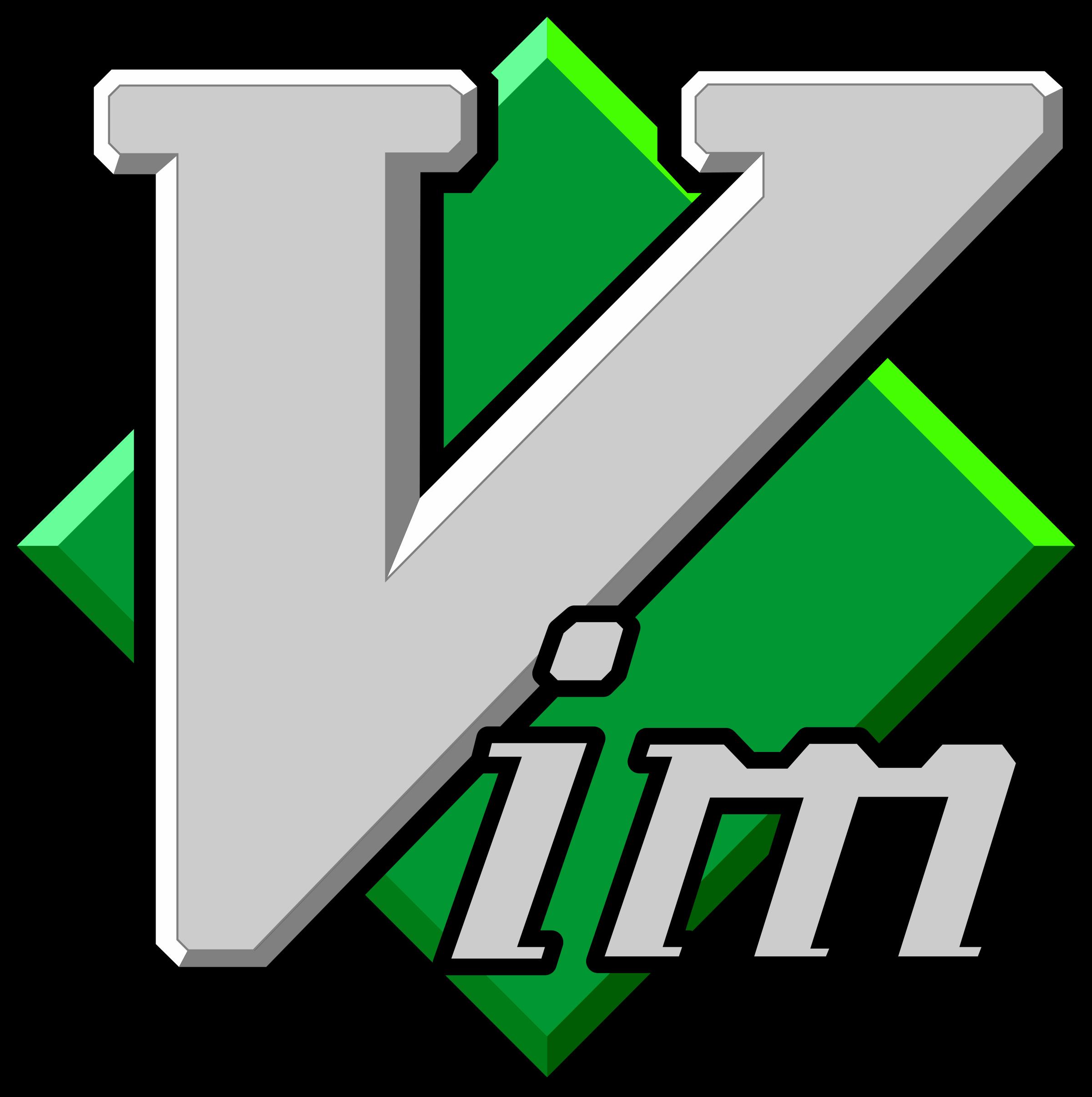 Vim Logo PNG Transparent & SVG Vector.