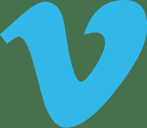Vimeo V Logo transparent PNG.