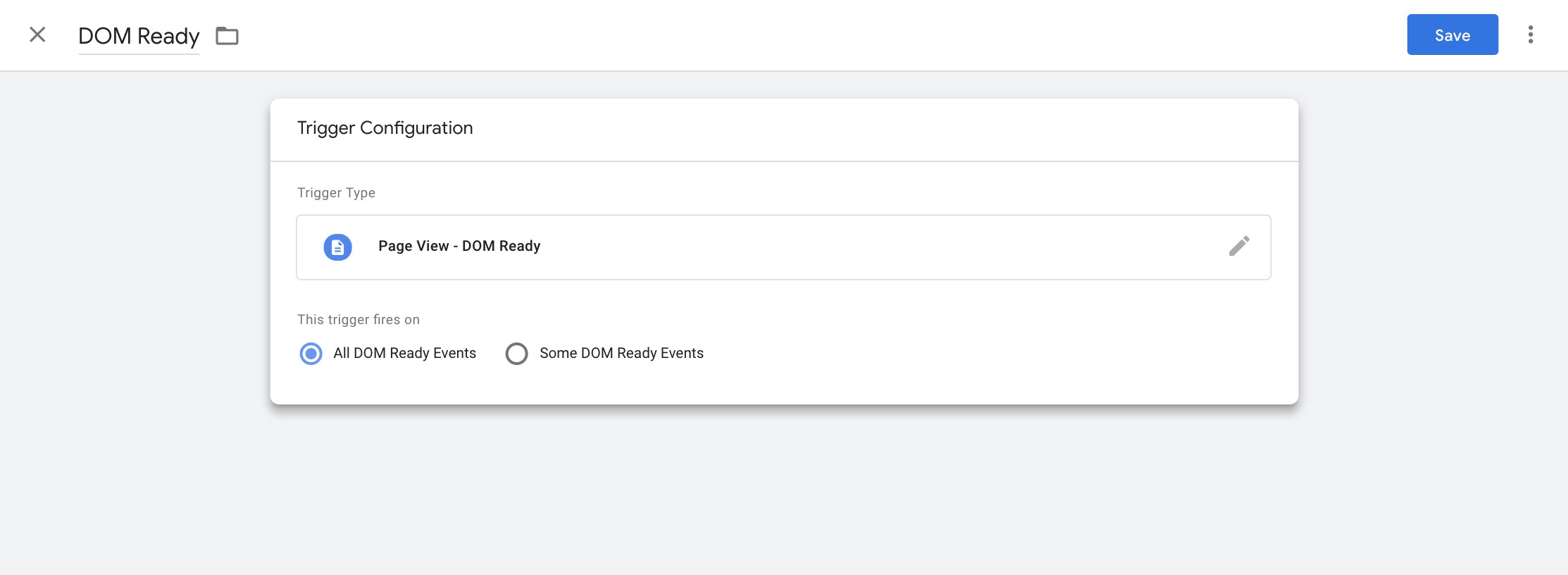 Integrating with Google Tag Manager.
