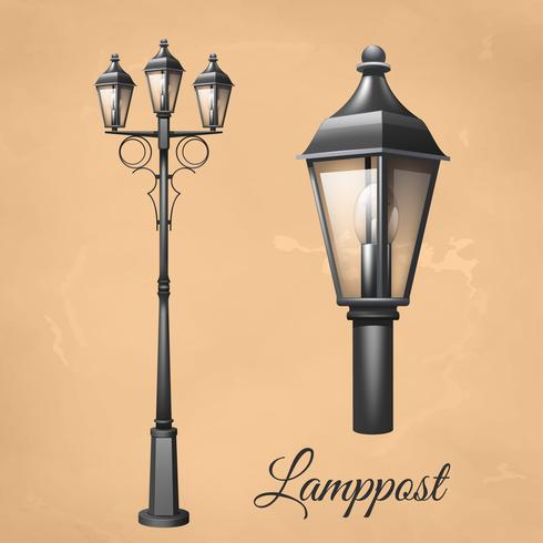 Lamp Post Set.