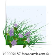 Vinca Clip Art Illustrations. 32 vinca clipart EPS vector drawings.