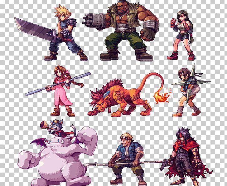 Final Fantasy VII Cloud Strife Vincent Valentine Barret.