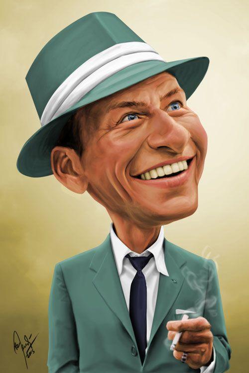 Frank Sinatra (Caricature) Dunway Enterprises.