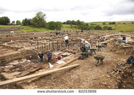 Vindolanda Stock Photos, Royalty.