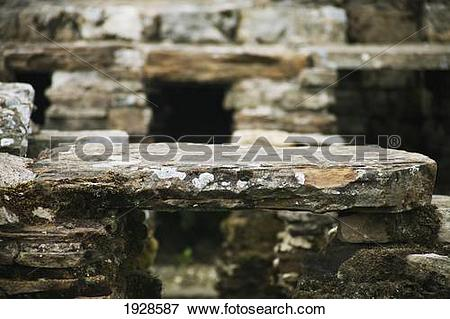 Picture of water channels at vindolanda roman settlement, near.