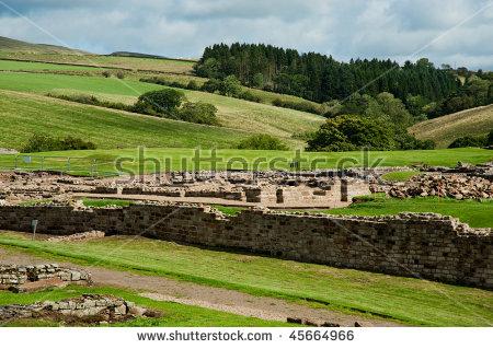 Hadrians Wall Uk Stock Photos, Royalty.