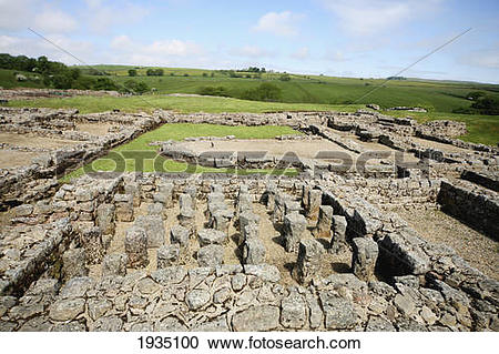 Stock Photography of Ancient Roman Water System Ruins At.