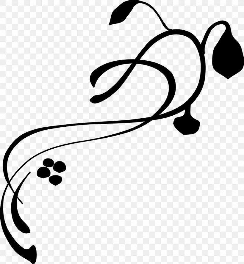 Vine Line Art Drawing Clip Art, PNG, 923x1000px, Vine, Black.