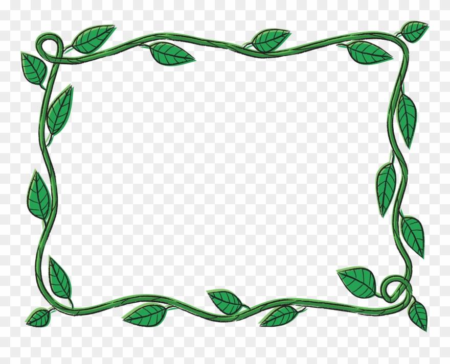 Vine Border Clip Art At Clker.