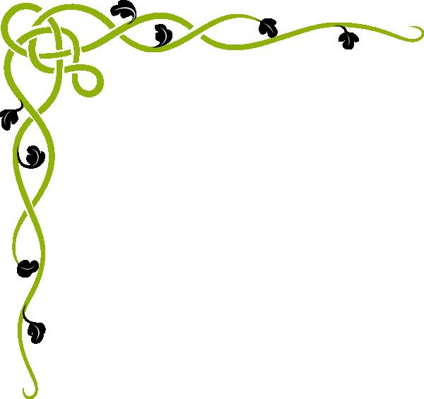 Vines Border Clip Art At Clkercom Vector Online.