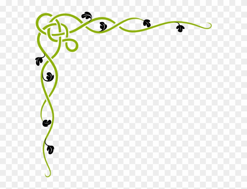 Jungle Vine Border Free Clipart Green Clipartfest.