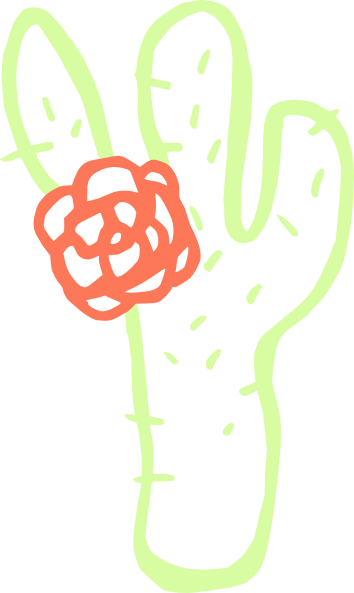Cactus clip art Free Vector / 4Vector.