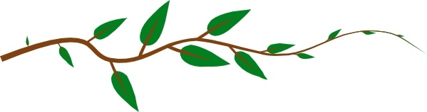 Leaf Vine clip art Free vector in Open office drawing svg.