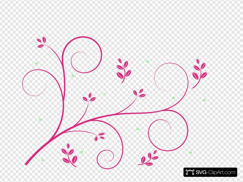 Wedding Vine Clip art, Icon and SVG.