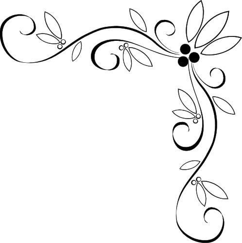 Vine Designs Clipart.