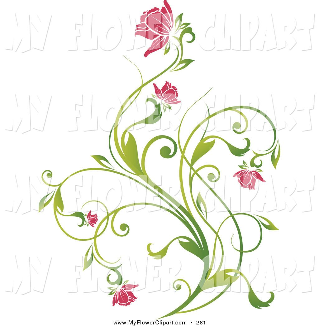Use the form below to delete this Vines And Flowers Clip Art.