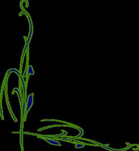 Flower Vine Clip Art at Clker.com.