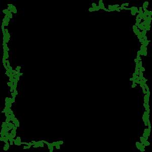Vine Border Green Clip Art at Clker.com.
