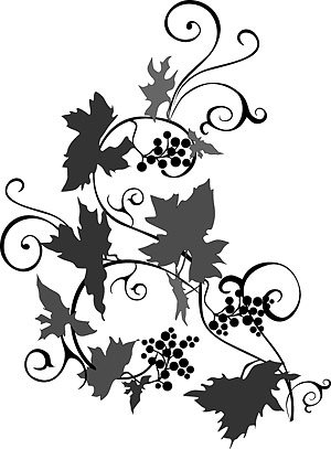 Free Vine silhouettes Clipart and Vector Graphics.