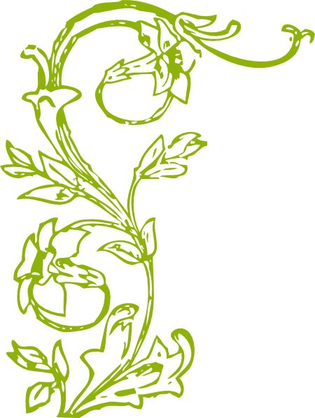 flowers with stems clip art.