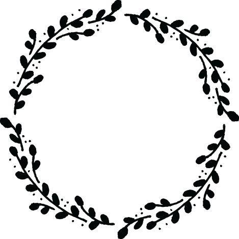 Vine Wreath Cliparts.