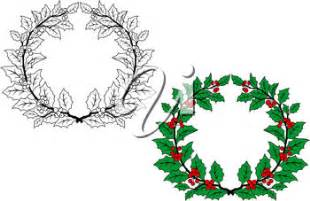 Similiar Grapevine Wreath Black And White Clip Art Keywords.