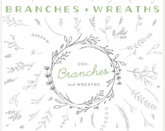 Vine Wreath Clipart Images.