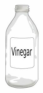 Vinegar Bottle Clipart.