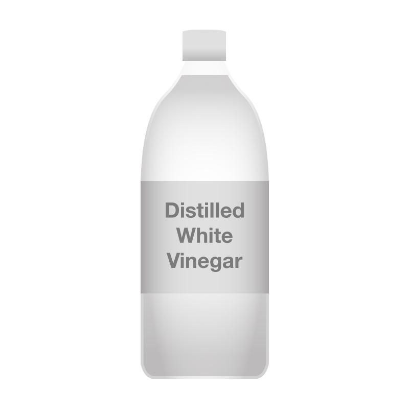 Vinegar clipart black and white.
