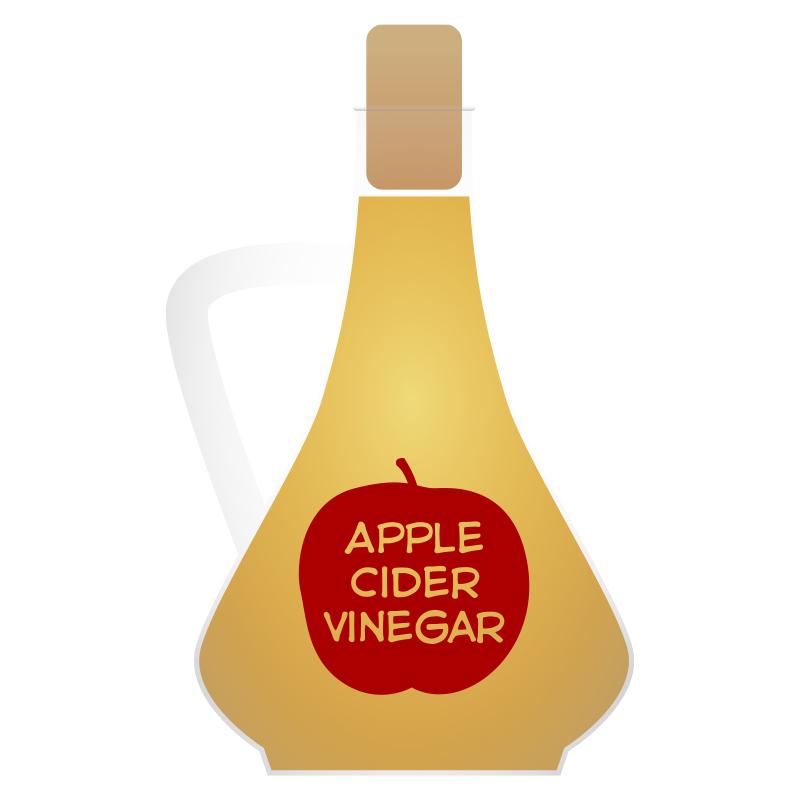 Free clipart apple cider vinegar.