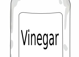 Vinegar clipart black and white 1 » Clipart Station.