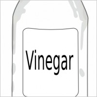Vinegar Bottle Clipart.
